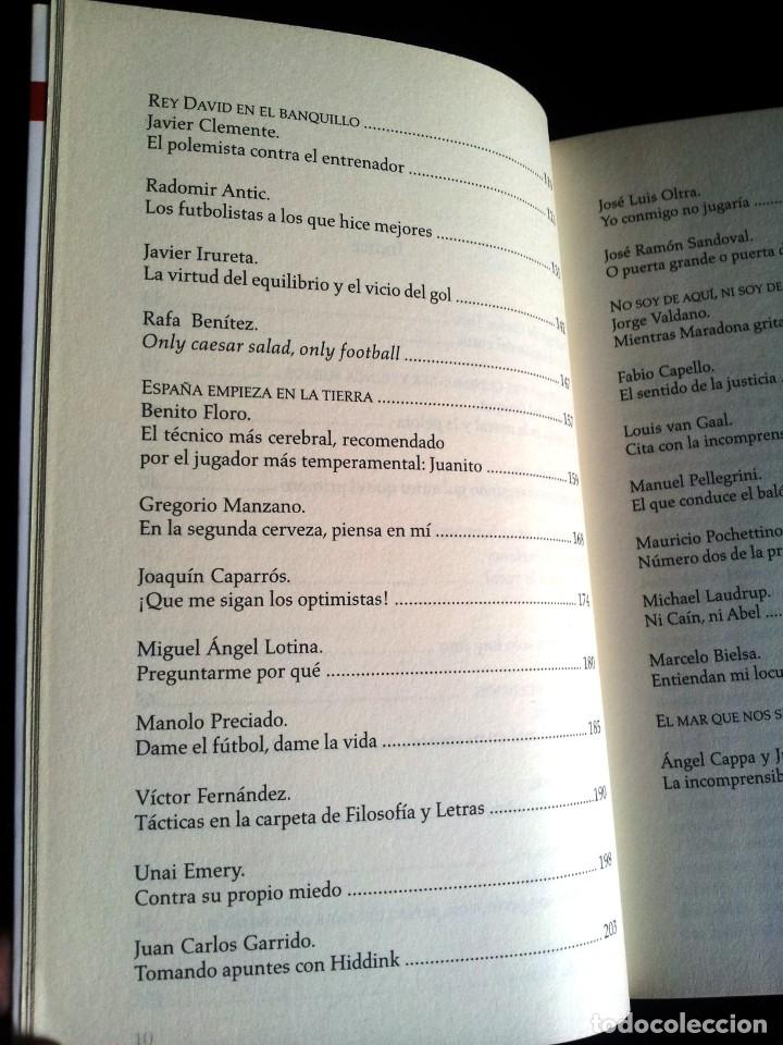 Coleccionismo deportivo: ORFEO SUAREZ - PALABRA DE ENTRENADOR - EDICIONES CORNER 2011 - Foto 4 - 206268605