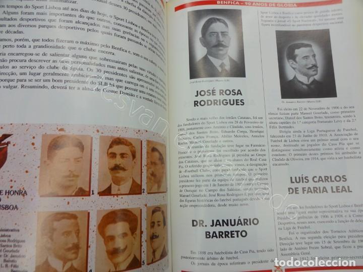 Coleccionismo deportivo: BENFICA. 90 Anos de Gloria. 1904-1994. 310 páginas - Foto 7 - 206427277