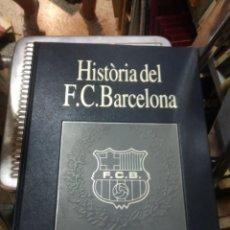 Coleccionismo deportivo: HISTÒRIA DEL F.C. BARCELONA. 6 VOL. LABOR. 1993. Lote 206787855