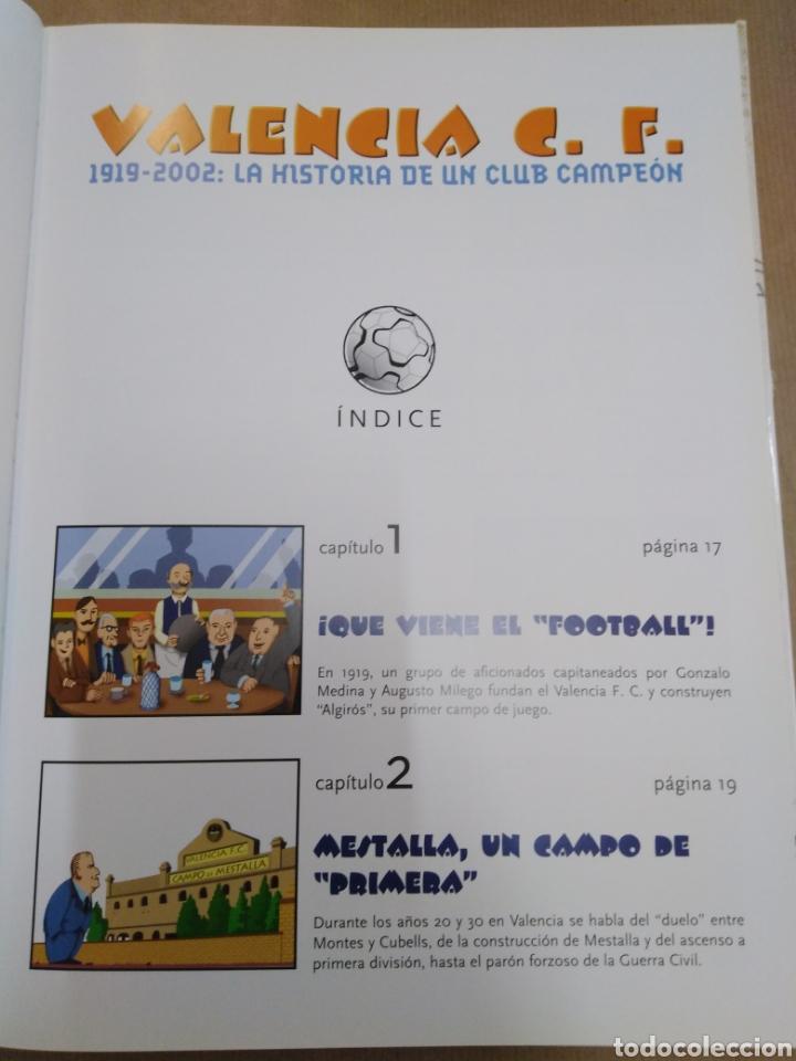 Coleccionismo deportivo: VALENCIA C. F.1919-2002:LA HISTORIA DE UN CLUB CAMPEON, CARLOS ORTIN, GINER BAU, EDT AJUNTAMIENTO VA - Foto 4 - 206798477