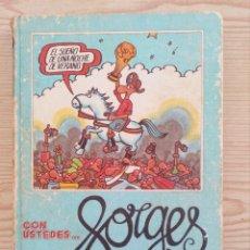 Coleccionismo deportivo: CON USTEDES... FORGES 82 - 1982 - EDICIONES UVE. Lote 206886780
