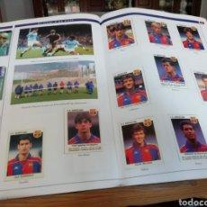 Coleccionismo deportivo: FC BARCELONA, HISTORIA EN CROMOS. 3 ALBUMES DESDE 1899. Lote 206950775