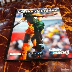 Coleccionismo deportivo: CRACKS DEL FÚTBOL. ED. GUILLETTE.. Lote 207015761