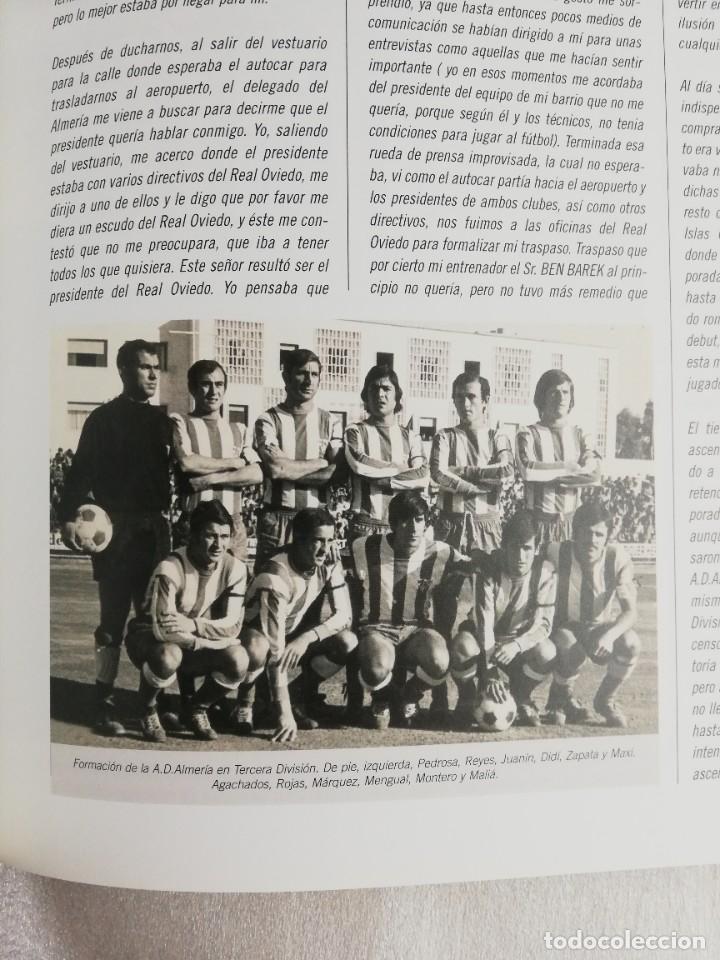 Coleccionismo deportivo: RELATOS ROJIBLANCOS-UN SIGLO DE FUTBOL EN ALMERIA- EDICION LIMITADA - Foto 4 - 207044851