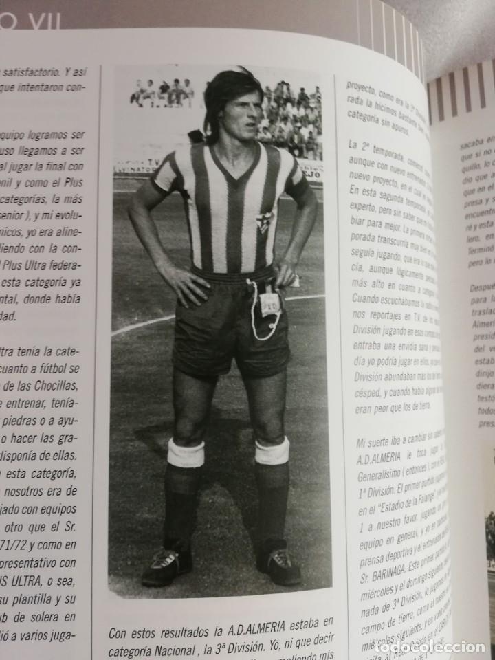 Coleccionismo deportivo: RELATOS ROJIBLANCOS-UN SIGLO DE FUTBOL EN ALMERIA- EDICION LIMITADA - Foto 5 - 207044851