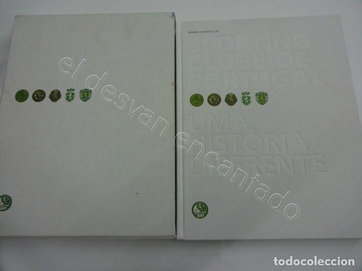 SPORTING CLUBE DE PORTUGAL. UMA HISTÓRIA DIFERENTE. FUBU (Coleccionismo Deportivo - Libros de Fútbol)