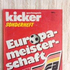 Coleccionismo deportivo: KICKER. - SONDERHEFT EM'88 -. Lote 208131516