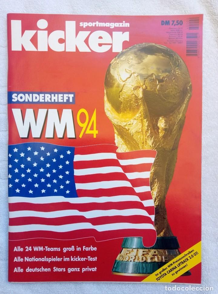 KICKER. - SONDERHEFT EM'88 - (Coleccionismo Deportivo - Libros de Fútbol)
