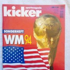 Coleccionismo deportivo: KICKER. - SONDERHEFT EM'88 -. Lote 208167730