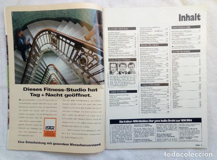 Coleccionismo deportivo: KICKER. - SONDERHEFT EM88 - - Foto 2 - 208167730