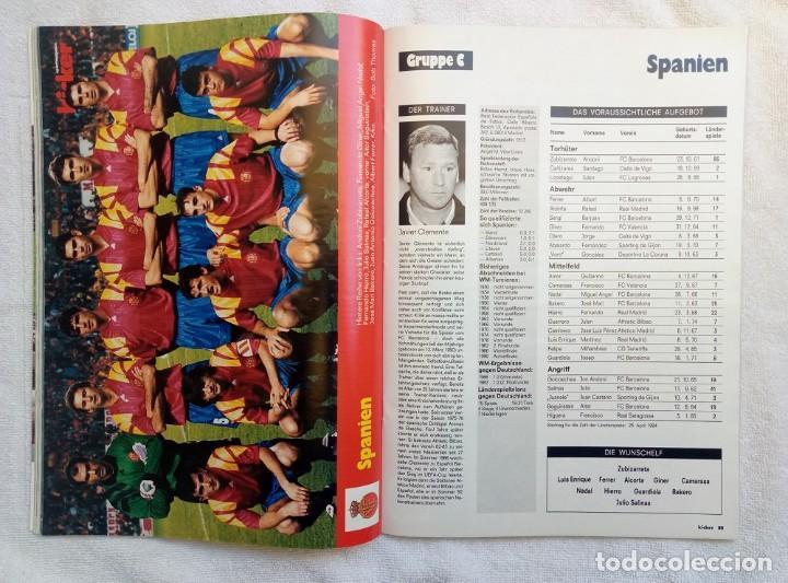 Coleccionismo deportivo: KICKER. - SONDERHEFT EM88 - - Foto 5 - 208167730