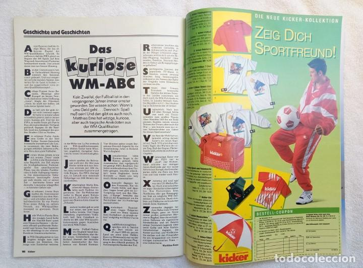 Coleccionismo deportivo: KICKER. - SONDERHEFT EM88 - - Foto 8 - 208167730