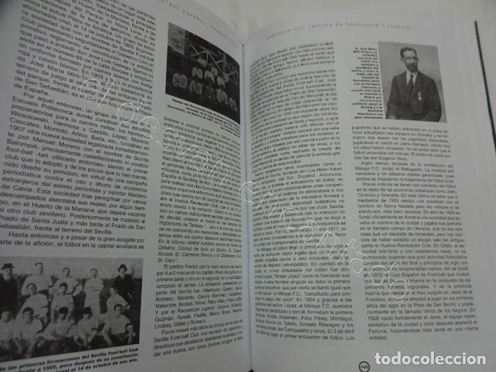 Coleccionismo deportivo: HISTORIA Y ESTADISTICA DEL FUTBOL ESPAÑOL. Tomo Primera Parte. Martínez Calatrava - Foto 2 - 208285010