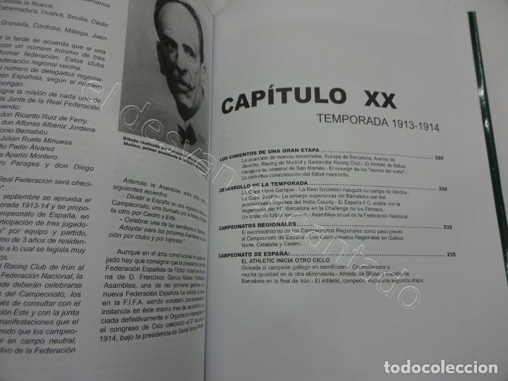 Coleccionismo deportivo: HISTORIA Y ESTADISTICA DEL FUTBOL ESPAÑOL. Tomo Primera Parte. Martínez Calatrava - Foto 3 - 208285010