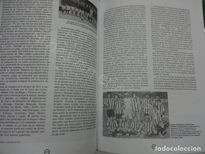 Coleccionismo deportivo: HISTORIA Y ESTADISTICA DEL FUTBOL ESPAÑOL. Tomo Primera Parte. Martínez Calatrava - Foto 5 - 208285010