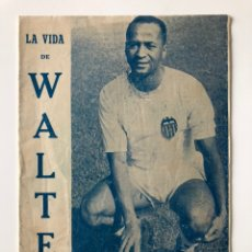 Coleccionismo deportivo: WALTER MARCIANO - VALENCIA CF, SANTOS, BRAZIL HOMENAJE.. Lote 208339756