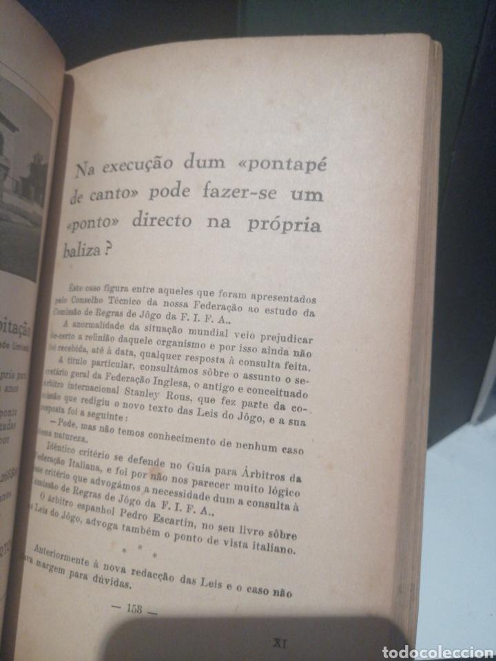 Coleccionismo deportivo: Libro FUTEBOL Divulgacion de sus Leyes Año 1948 - Foto 5 - 208452527