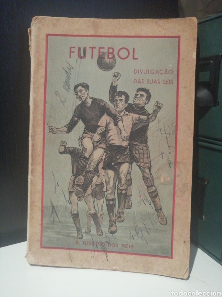 LIBRO FUTEBOL DIVULGACION DE SUS LEYES AÑO 1948 (Coleccionismo Deportivo - Libros de Fútbol)