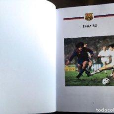 Coleccionismo deportivo: MARADONA. SCHUSTER. FC BARCELONA 82-83. LIBRO 289 PAGS. VER 50 FOTOS !. Lote 224374736