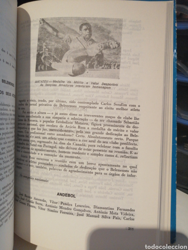 "Coleccionismo deportivo: Historia del Club de Futbol ""OS BELENENSES"" 1960-1984 - Foto 4 - 209080347"