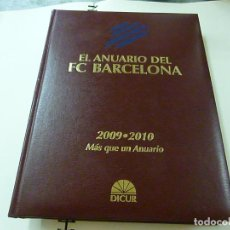 Coleccionismo deportivo: EL ANUARIO DEL FC BARCELONA 2009 – 2010 MÁS QUE UN ANUARIO... 1ª EDICIÓN, 2010 -N 8. Lote 209145011