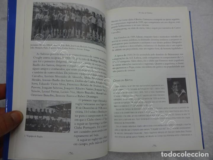 Coleccionismo deportivo: CLUBE FUTEBOL OS BELENENSES. 90 anos de Historia. 366 pág. Noviembre 2009. Futebol Portugues - Foto 3 - 209330482