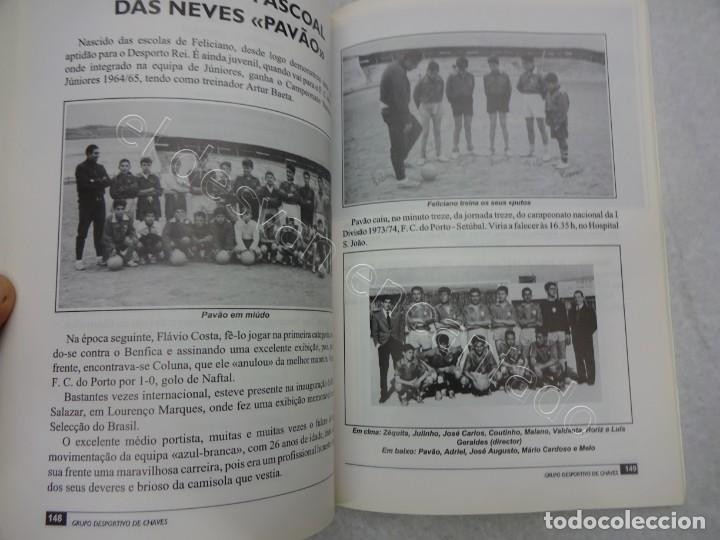 Coleccionismo deportivo: 40 ANOS DE VIDA DO GRUPO DES. DE CHAVES. 1992. 270 PÁG.. Futebol Portugues - Foto 2 - 209330703