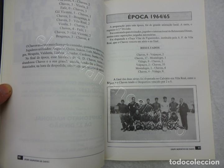 Coleccionismo deportivo: 40 ANOS DE VIDA DO GRUPO DES. DE CHAVES. 1992. 270 PÁG.. Futebol Portugues - Foto 3 - 209330703