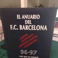 Coleccionismo deportivo: EL ANUARIO DEL FC BARCELONA 96-97. Lote 209628100