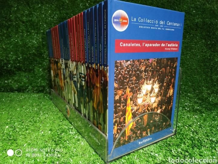 Coleccionismo deportivo: La colección del Centenario BARCA Es Barcanova - Foto 5 - 210188335
