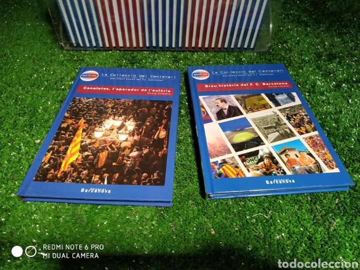 Coleccionismo deportivo: La colección del Centenario BARCA Es Barcanova - Foto 7 - 210188335