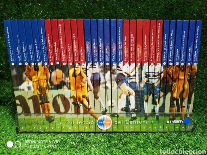 LA COLECCIÓN DEL CENTENARIO BARCA ES BARCANOVA (Coleccionismo Deportivo - Libros de Fútbol)