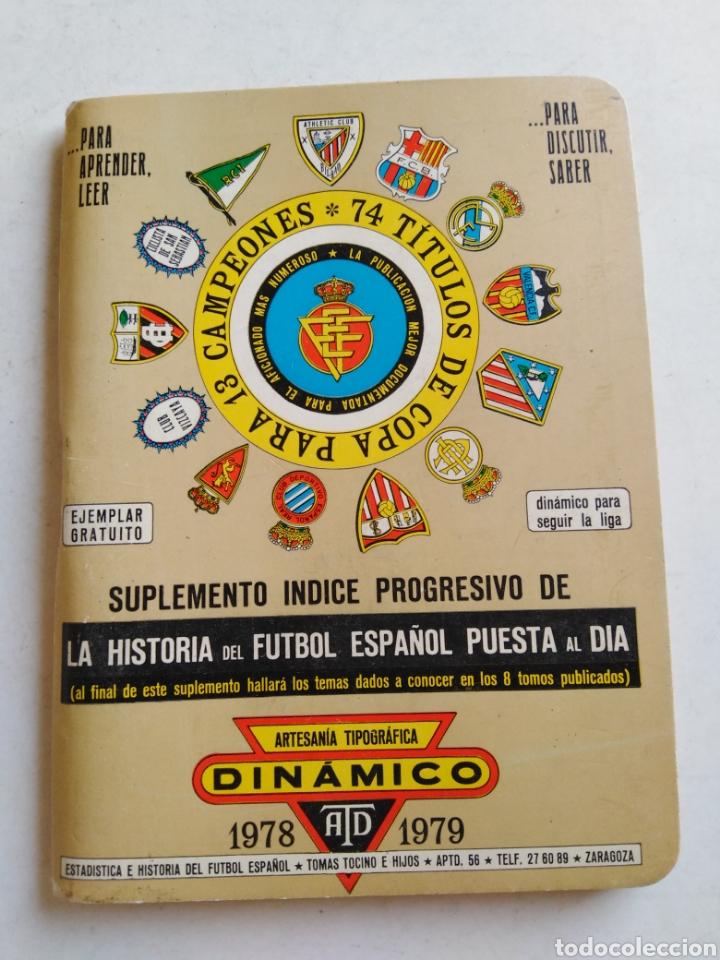 Coleccionismo deportivo: Lote 10 libritos de fútbol ( variados ) - Foto 10 - 210204175