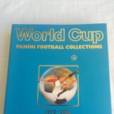 Collectionnisme sportif: ALBUM PANINI. - WORLD CUP PANINI COLLECTION 1970-2018 -. Lote 210387820