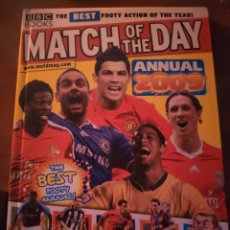 Coleccionismo deportivo: MATCH OF THE DAY ANNUAL 2009 (IDIOMA INGLÉS). Lote 210411456
