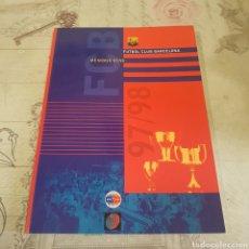 Coleccionismo deportivo: MEMORIA 97/98 F. C. BARCELONA /EN CATALAN. Lote 210937455