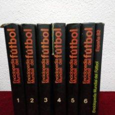 Coleccionismo deportivo: ENCICLOPEDIA MUNDIAL DE FÚTBOL. 6 TOMOS + ESPAÑA 82. ED. OCEANO.. Lote 210942337