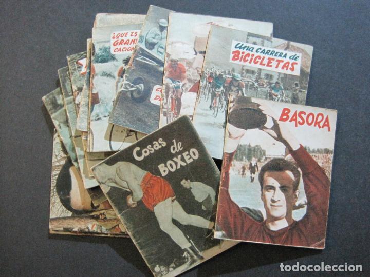 Coleccionismo deportivo: LOTE DE 18 MINI LIBROS DEPORTIVOS DE LA EDITORIAL FHER-BASORA-GAINZA-CICLISMO..-VER FOTOS-(V-21.195) - Foto 2 - 211427692