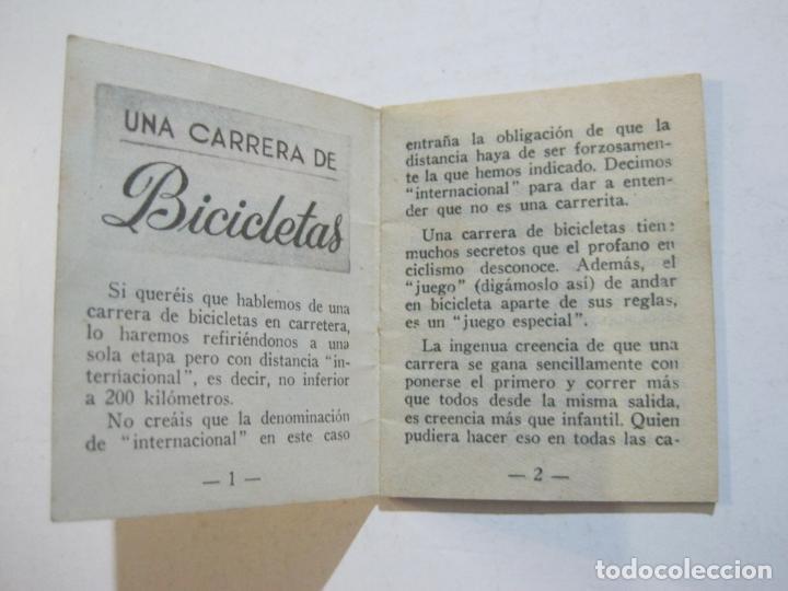 Coleccionismo deportivo: LOTE DE 18 MINI LIBROS DEPORTIVOS DE LA EDITORIAL FHER-BASORA-GAINZA-CICLISMO..-VER FOTOS-(V-21.195) - Foto 11 - 211427692