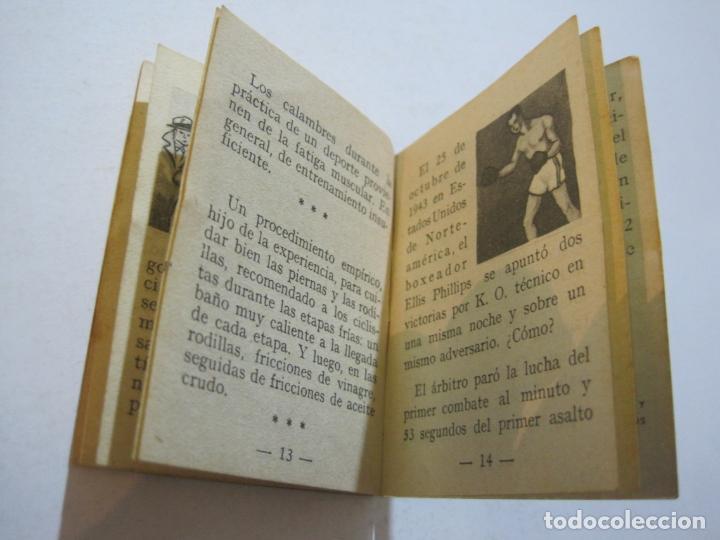 Coleccionismo deportivo: LOTE DE 18 MINI LIBROS DEPORTIVOS DE LA EDITORIAL FHER-BASORA-GAINZA-CICLISMO..-VER FOTOS-(V-21.195) - Foto 20 - 211427692