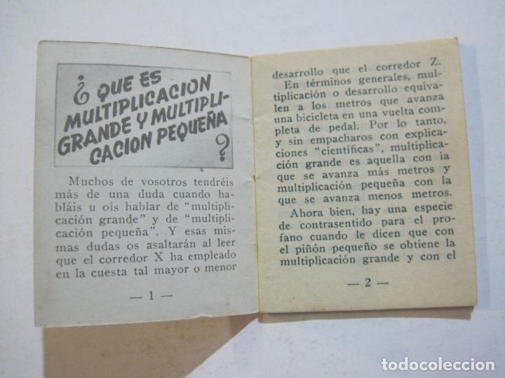 Coleccionismo deportivo: LOTE DE 18 MINI LIBROS DEPORTIVOS DE LA EDITORIAL FHER-BASORA-GAINZA-CICLISMO..-VER FOTOS-(V-21.195) - Foto 23 - 211427692