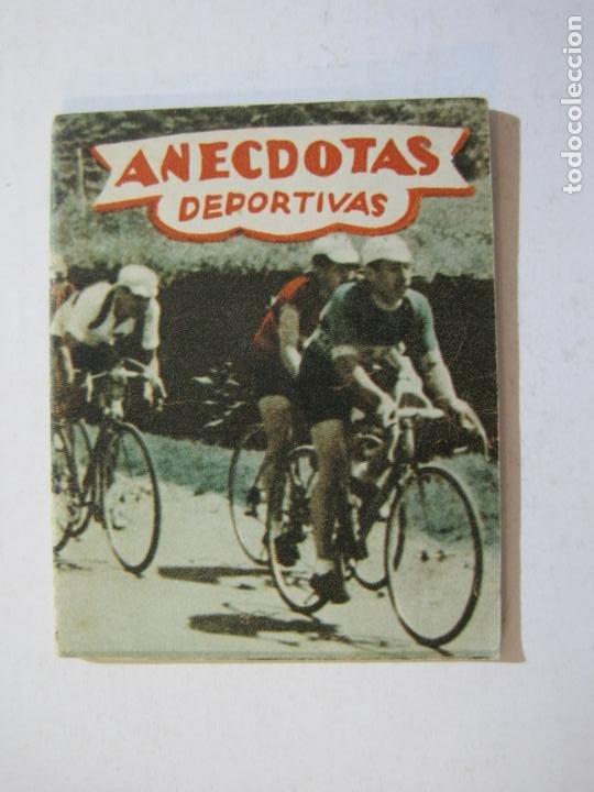 Coleccionismo deportivo: LOTE DE 18 MINI LIBROS DEPORTIVOS DE LA EDITORIAL FHER-BASORA-GAINZA-CICLISMO..-VER FOTOS-(V-21.195) - Foto 50 - 211427692