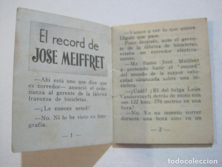 Coleccionismo deportivo: LOTE DE 18 MINI LIBROS DEPORTIVOS DE LA EDITORIAL FHER-BASORA-GAINZA-CICLISMO..-VER FOTOS-(V-21.195) - Foto 59 - 211427692