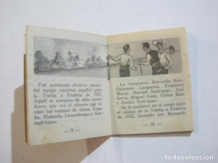 Coleccionismo deportivo: LOTE DE 18 MINI LIBROS DEPORTIVOS DE LA EDITORIAL FHER-BASORA-GAINZA-CICLISMO..-VER FOTOS-(V-21.195) - Foto 66 - 211427692