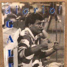 Collectionnisme sportif: DIARIO DEL GALÉS (JOHN BENJAMIN TOSHACK). REAL SOCIEDAD 1985-1987. EDITA LUR EN 1993.. Lote 245463105