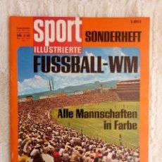 "Coleccionismo deportivo: SPORT ILLUSTRIERTE. ""SONDERHEFT FUSBALL WM 70"".. Lote 212174032"