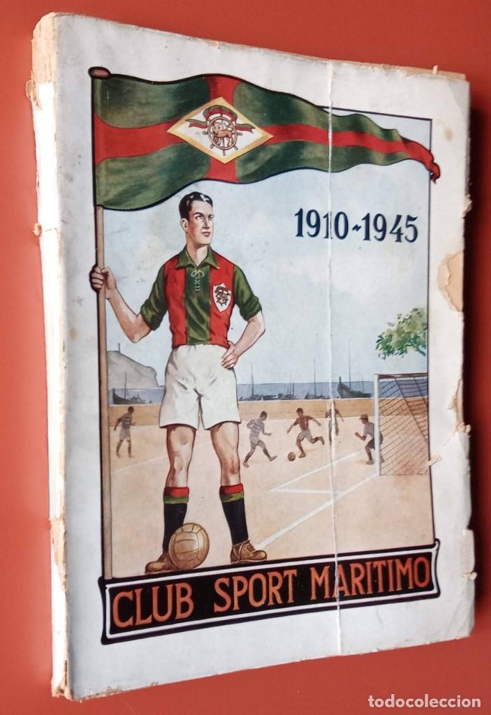 CLUB SPORT MARÍTIMO - 1910 - 1945 - FUNCHAL MADEIRA - FIRMA AUTOR - FOTOGRAFIAS - RARO Y ÚNICO (Coleccionismo Deportivo - Libros de Fútbol)