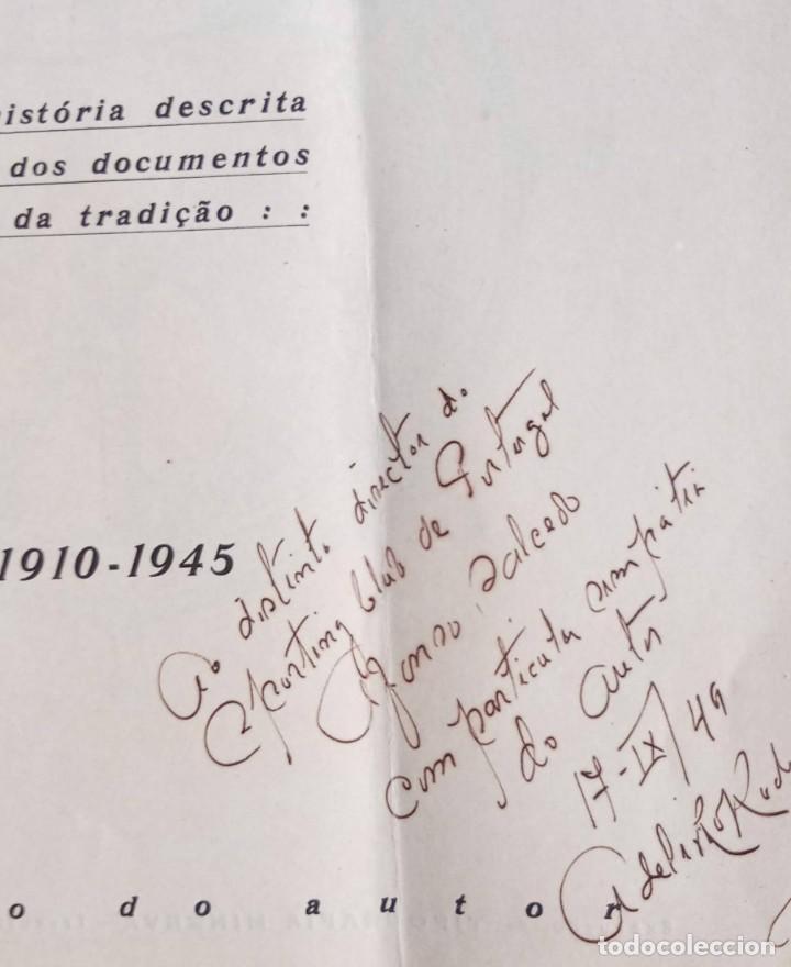 Coleccionismo deportivo: CLUB SPORT MARÍTIMO - 1910 - 1945 - FUNCHAL MADEIRA - FIRMA AUTOR - FOTOGRAFIAS - RARO Y ÚNICO - Foto 2 - 212423956
