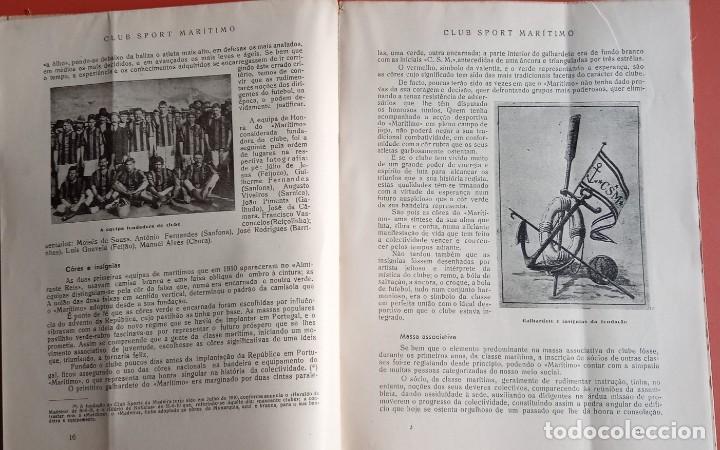 Coleccionismo deportivo: CLUB SPORT MARÍTIMO - 1910 - 1945 - FUNCHAL MADEIRA - FIRMA AUTOR - FOTOGRAFIAS - RARO Y ÚNICO - Foto 4 - 212423956