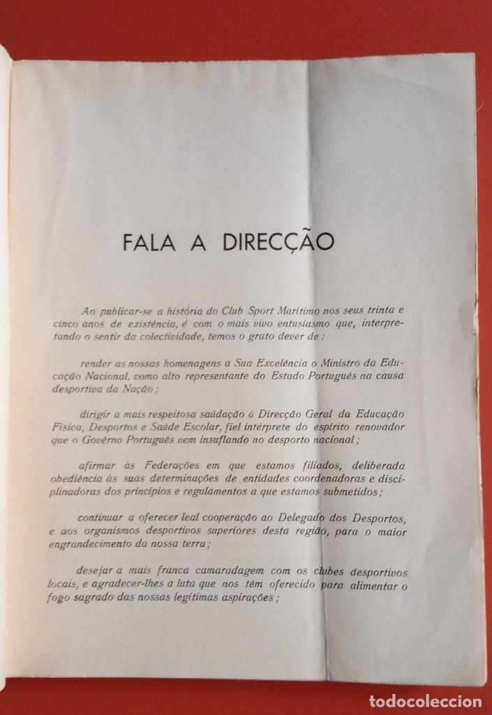 Coleccionismo deportivo: CLUB SPORT MARÍTIMO - 1910 - 1945 - FUNCHAL MADEIRA - FIRMA AUTOR - FOTOGRAFIAS - RARO Y ÚNICO - Foto 5 - 212423956